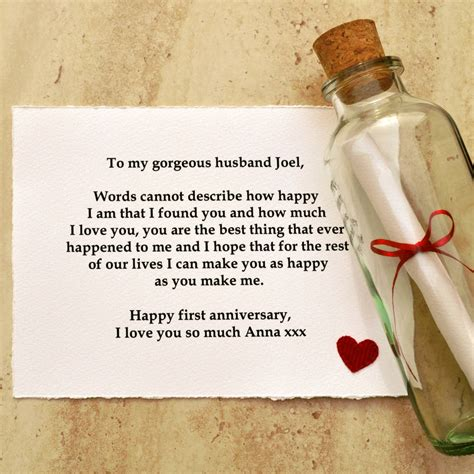 Wedding Anniversary Gift Message by Personalised Message Anniversary Gift By Arnott