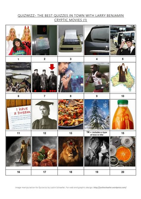film quiz cryptic clues picture quiz cryptic movies 1 doc quiz stuff pinterest