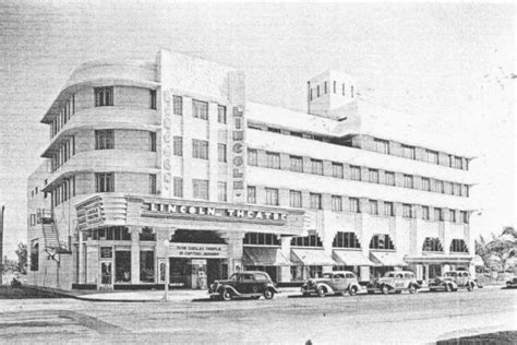 lincoln theater miami h m to open store in restored miami cinema