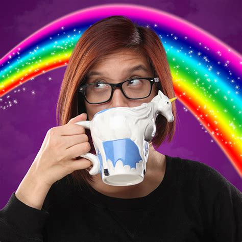 3D Unicorn Mug   ThinkGeek
