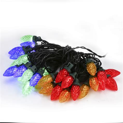 multi color rgb led large strawberry fairy string light