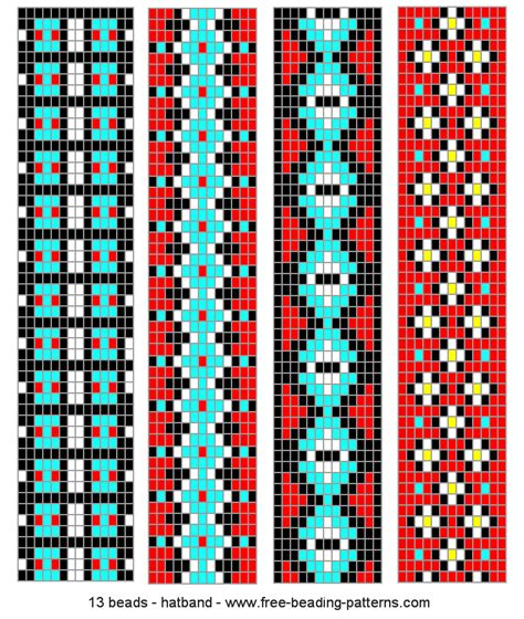 peyote stitch headband indian things