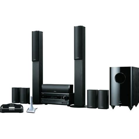 onkyo ht s7200 home theater system black ht s7200 b h photo