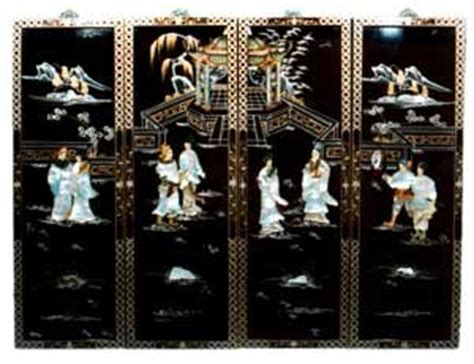 Chinese Soapstone Figures Amazon Com Oriental Black Lacquer Wood Wall Panels
