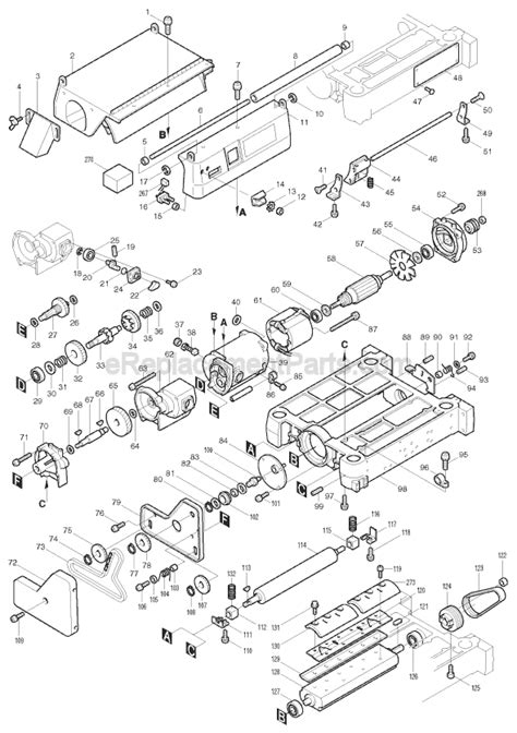 Makita 2030n Parts List And Diagram Ereplacementparts Com