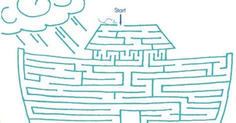 printable lds mazes lds games mazes noahs ark church pinterest maze