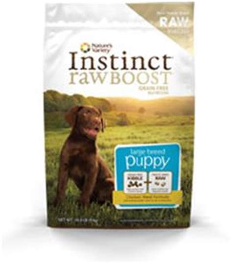 puppy boost natures variety instinct boost grain free chicken meal large breed puppy