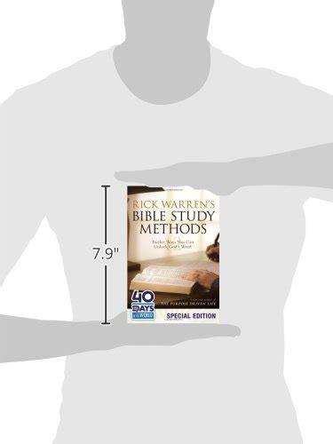 libro rick warrens bible study libro rick warren s bible study methods twelve ways you can unlock god s word di rick warren
