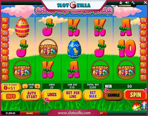 easter surprise slot machine game  play   playtechs  casinos