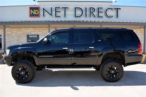 chevrolet suburban lifted 2007 chevrolet suburban lt3 1500 lifted 4wd fort worth