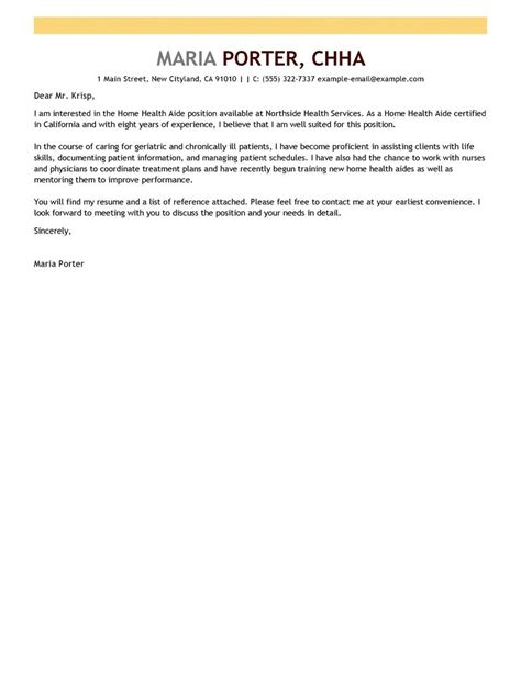 Cover Letter Healthcare Assistant – Health Care Assistant Cover Letter Sample   clipartsgram.com