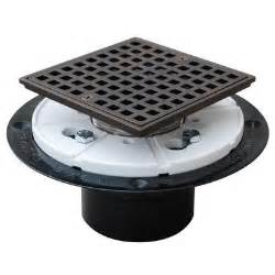 sioux chief 2 in abs square shower pan drain in