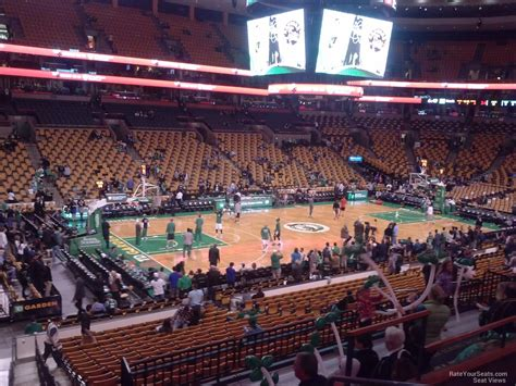 td garden section  boston celtics rateyourseatscom