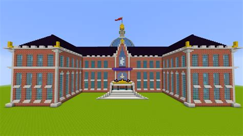 Castle Blueprint by Canterlot High Minecraft Project
