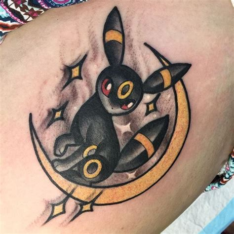 umbreon tattoo best 25 ideas on nintendo