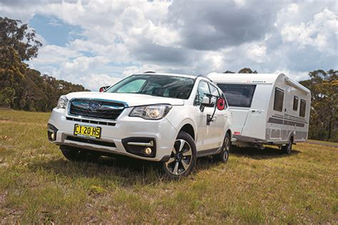 towing with subaru forester subaru forester 2 0d l tow test