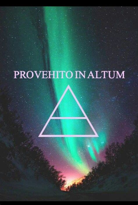 Kaos 30 Seconds To Mars Provehito In Altum higher ground 30 seconds and mars on