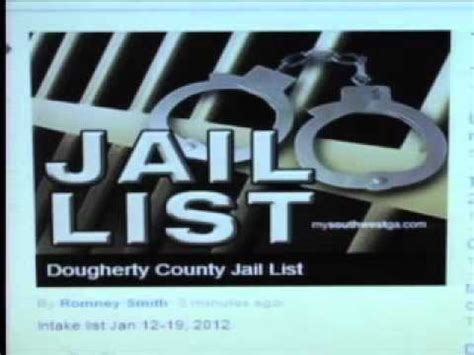 Dougherty County Arrest Records Dougherty County List