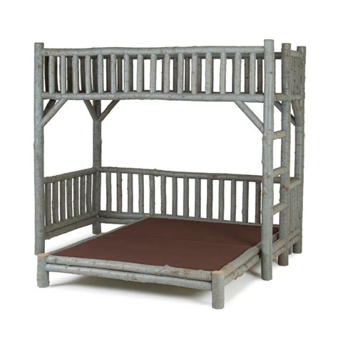 Bunk Bed Platform Custom Designed Rustic Beds Exceptional Quality La Lune Collection La Lune Collection