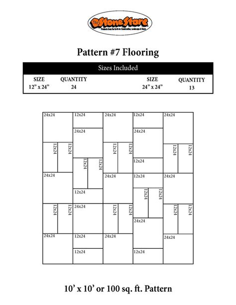 pattern guide stone pattern guides