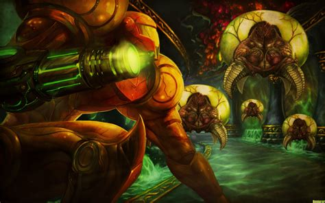 honnoror wallpapers metroid