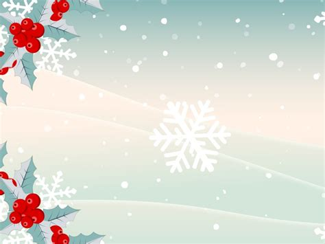 xmas snows presentation powerpoint templates christmas