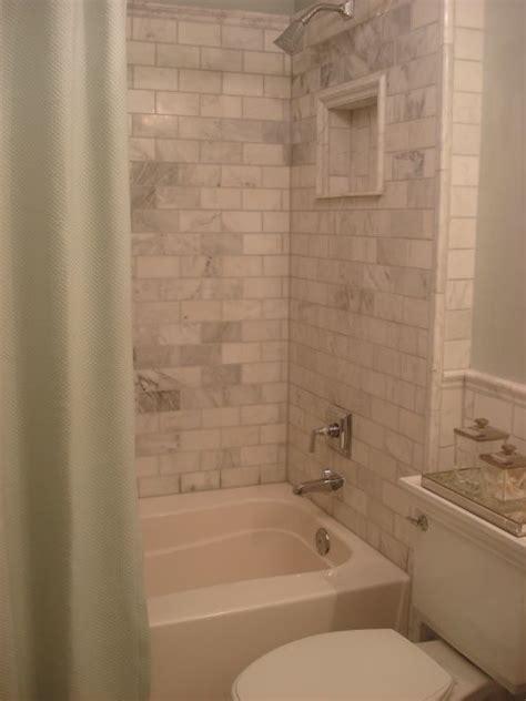 carrara marble subway tile bathroom best 25 restoration hardware bathroom ideas on pinterest