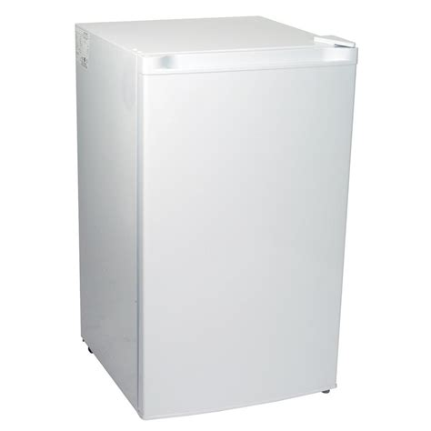 koolatron kool 3 1 cu ft upright freezer in white ktuf88