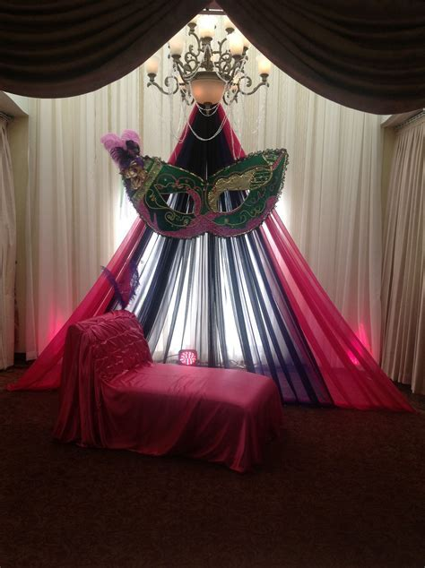 Stage Masquerade Decor @Jennie Elizabeth   valentines dance