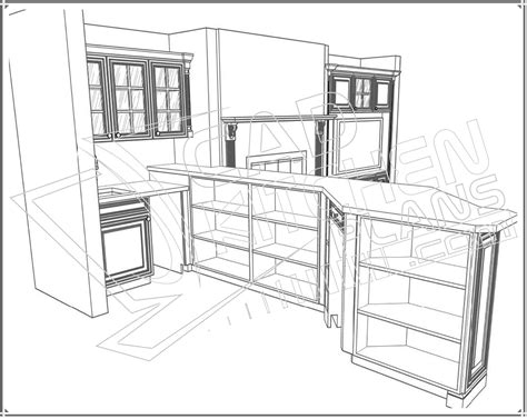 Cad Kitchen Design Autocad Kitchen Design Autocad Kitchen Design And Mid