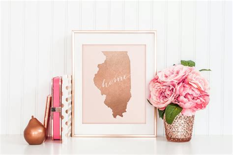 decor links rose gold home decor popsugar home