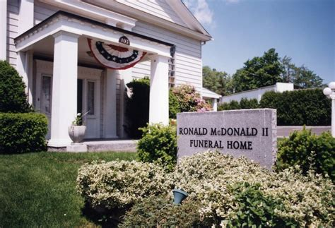 ronald mcdonald ii funeral home pa photo