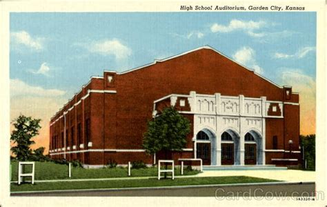 Garden City High School Ks by High School Auditorium Garden City Ks