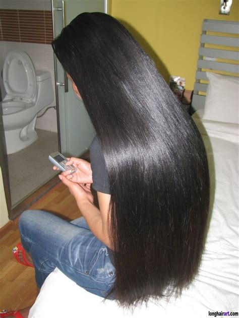 photos of lovely dark black long silky hairs of indian chinese girls in braided pony styles gorgeous long straight black hair beautiful long hair