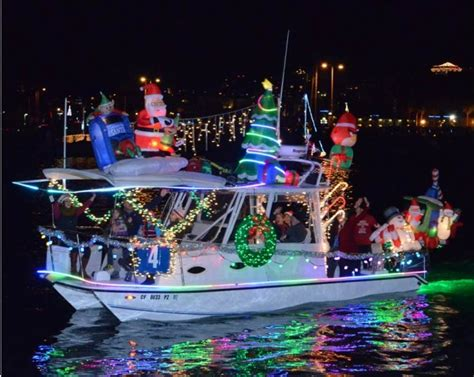 san diego bay parade of lights where to see lights in san diego 2014