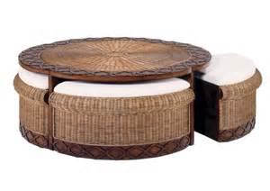 simple and complete inspirations of coffee table with stools