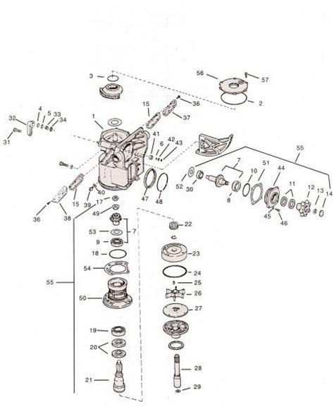 omc stringer parts diagram gearcase omc parts drawing 400 800 stringer