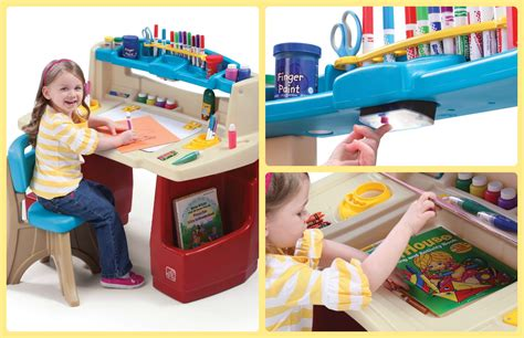 Step 2 Activity Table by Step2 Deluxe Master Desk Ends 12 1