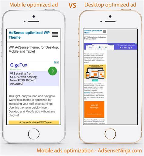 adsense mobile mobile optimized adsense ads for smartphones adsense