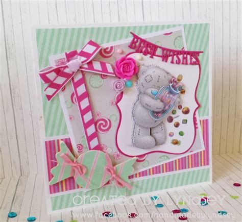 Handmade Teddy Cards - sweet shop and simple card tatty teddy cards