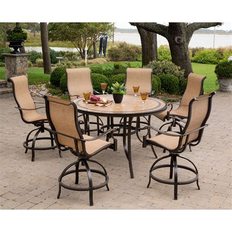 High Dining Patio Set Home Design Ideas And Pictures High Dining Patio Sets