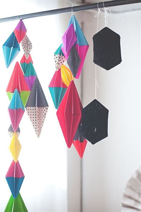 Origami Garland - the 25 best paper ideas on origami
