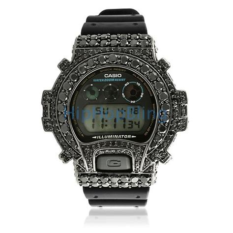 big boy custom black g shock dw6900 custom g shock