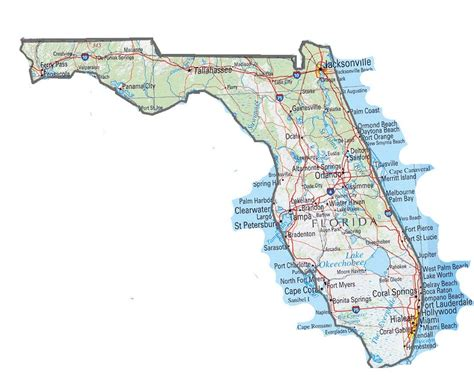 Simple Search Florida Florida State Map My