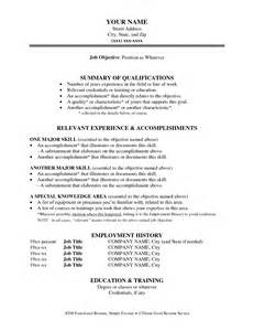 best photos of printable functional resume templates