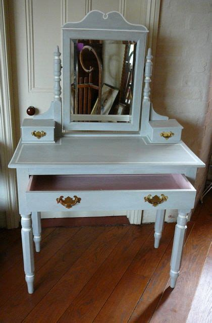 Dressing Table Idea This Dressing Table Has Been Painted In Sloan S Grey With Details Picked Out In