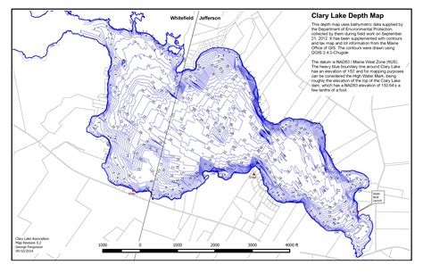 depth map lake depth maps images
