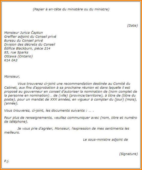 Prã Sentation Lettre En 6 Pr 233 Sentation Lettre Administrative Format Lettre