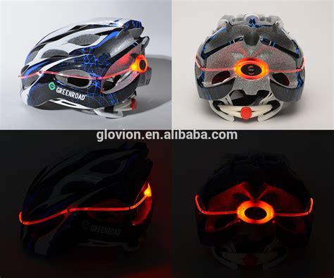light up bike helmet light up sos safety bike helmet glow in the