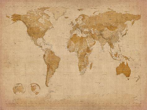 vintage world map large world map vintage